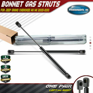 2X FRONT BONNET GAS STRUTS SUPPORT FOR JEEP GRAND CHEROKEE MK2 WJ,WG 1999-2005