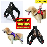 Dog Harness Adjustable No Pull Dog Vest Harness with Handle XS S M Large XL