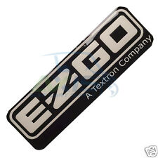 GOLF CART EZGO E-Z-GO RXV NAME PLATE OEM FACTORY NEW  ELECTRIC OR GAS MODELS