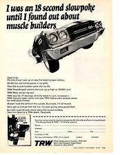 1970 CHEVROLET CHEVELLE SS  ~  ORIGINAL TRW PRINT AD