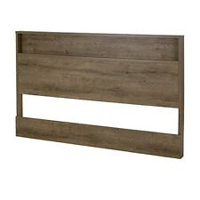 South Shore 9075261 Holland Full/Queen Headboard 54/60In Weathered Oak NEW