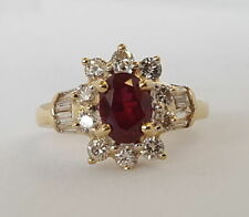 Lab-Created/Cultured Ruby Not Enhanced Fine Jewellery