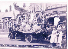 PHOTOGRAPH IPSWICH VICTORY LOAN PARADE CLIFTON ROAD SCHOOL JULY 1919