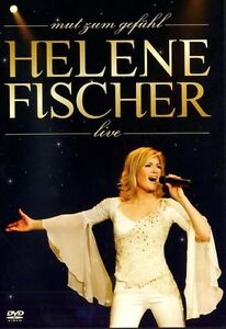 "HELENE FISCHER ""MUT ZUM GEFÜHL LIVE"" DVD NEW+"
