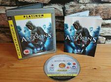 "Assassins Creed ""Platinum"" playstation 3 PS3 game"
