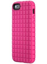 BRAND NEW Speck Pixelskin Case iPhone SE 5S 5 Raspberry Pink 3 Pack