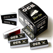 NEW OCB ROACH FILTER TIPS PERFORATED FOR EASY ROLLING PAPERS BOOKLETS (5,10,20)
