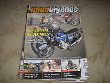 MOTO LEGENDE 181 07.2007 KAWASAKI 350 A7 AVENGER SS 100 ANS de TOURIST TROPHY