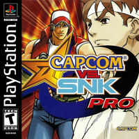 🔥 Capcom vs SNK Pro Playstation PS1  Disk Only