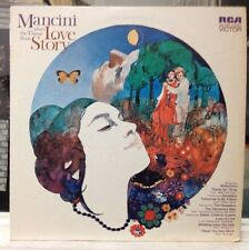 EXC LP~HENRY MANCINI~Love Story (Plays The Theme From)~
