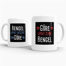 """Pärchen-Tassenset """"Bengel & Göre"""" Partner / Liebe / Love / Beziehung / Paare"""