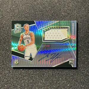 Donte Divincenzo 2019-20 Panini Spectra Rookie Patch Auto /49 RPA On Card