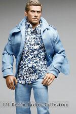 mc0383 Light Blue Smart Denim Jacket for 1/6 Figure (Jacket Only)
