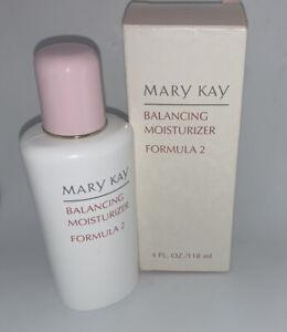 Mary Kay Balancing Moisturizer Formula 2 Normal Combination.Full Size 4 fl oz