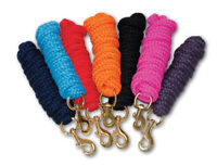 Rhinegold Luxe Lead Rope - Choose colour - 2m Luxury Soft Padded Leadrope