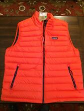 Patagonia Mens Sweater Vest 84622 Paintbrush Red XL