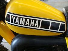 1980 YAMAHA YZ 125 250 465 tank decals (2 layers) NEW 1 pair, DIY Install kit