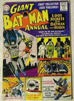 Giant Batman Annual #1 GD/VG DC Comics 1001 Secrets of Batman Origin Bat-Cave