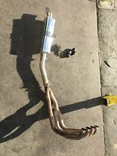 1998 GSXR 600 Delkevic EXHAUST-4 INTO I FULL EXHAUST-MUFFLER-WITH HARDWARE