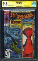Spider-Man #11 CGC 9.8 SS Wolverine cover Signed by Stan Lee