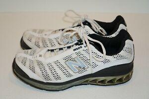 Mens New Balance ZIP 8505 Running Sneakers size 9.5 M8505WB White & Gray