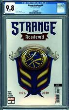 STRANGE ACADEMY #2 (2020 Marvel) CGC 9.8 NM/M SECOND PRINTING