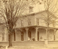 BEAUTIFUL BRICK BUILDING POSSIBLY SCHOOL STEREOVIEW LOCATION UNKNOWN