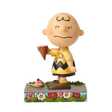 Peanuts by Jim Shore Charlie Brown with Ice Cream Melting Point