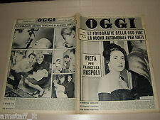 OGGI=1962/10=FRANCESCA RUSPOLI=ALBERTO LIONELLO=MINA=FEDERICO ZARDI=SANDRA PIODA
