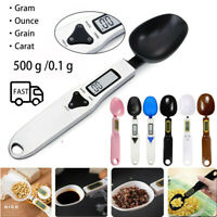 500g/0.1g Digital Kitchen Spoon Scale Lab Gram ElectronicLCD Measure Food Weight