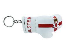 mini boxing gloves keychain keyring key chain leather Flag northern ireland