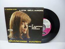 FRANCOISE HARDY L'ETA' DELL'AMORE - E' ALL'AMORE CHE PENSO VOGUE J 35035