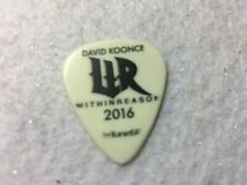 David Koonce - Within Reason 2016 tour issue guitar pick No Lot