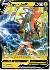 Pokemon - Sword and Shield - Tapu Koko V - 072/202 - Ultra Rare - Nm/M