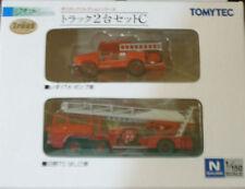 1/150 N scale TOMYTEC JAPAN FIRE ENGINE X 2