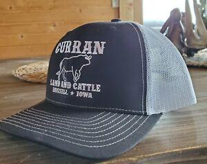 "Curran Land & Cattle Trucker Hat - BTO ""Big Time Operator"" - Real Farm Hat"