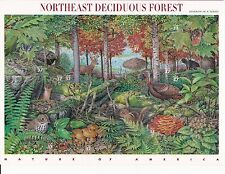 US 3899 2005 Northeast Deciduous Forest Color Shift Error - Full Sheet MNH