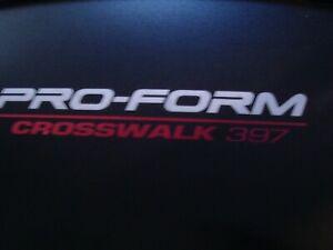 Proform 397  Front DRIVE Roller and IDLER Roller 315693, 248571, 8PJ556