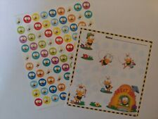 Educational Teaching/Supplies - Buzzy Bee Mini Stickers & Incentive Charts