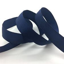 """5Yards 5/8"""" 15mm Grosgrain Ribbon Hair Bow Wedding Decoration DIY Sewing #CA"""