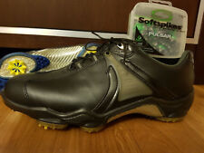 Footjoy Dryjoys Aquaflex Mens Golf Shoes 53523 NEW Black 9 W Beautiful! Plus Ext