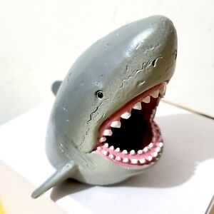 Great White Shark Pen Phone Holder Pencil Stationery Accessories Stand Animal
