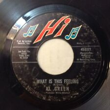 AL GREEN 45 YOU OUGHT TO BE W ME/WHATS THIS FEELING 1972 MEMPHIS SOUL R&B VG/VG+