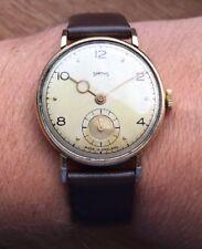 Smiths Pre-deluxe Watch 1951 RH. 0709 9ct Gold Dennison Case Serviced