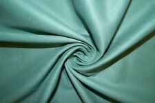 Mint Microfiber Microsuede Suede Upholstery 100% Polyester Fabric BTY