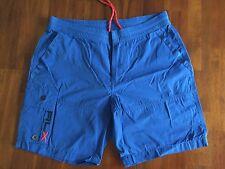 RALPH LAUREN RLX  SUPER BLUE CARGO SHORTS ( SMALL)145