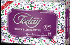 2 X Today Contraceptive For Women 5 Pessaries Each Pack Safe. Sure. Satisfying.