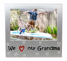 We Love Our Grandma Photo Picture Frame Mother's Day Birthday Xmas Granny Gifts