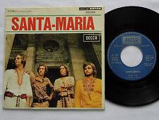 """SANTA MARIA """" Elle """" FRENCH psych pop PROMO 7"""" 45 DECCA (1971) VG+/EX"""