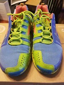 Reebok ZigTech ZigWild TR2 Trail Running Shoes Grey Men's Size 10.5 Blue